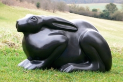 Hare, Belgian fossil marble