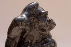 Gorilla Seated, Belgian fossil marble