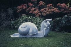Snail, Bardiglio Imperial marble
