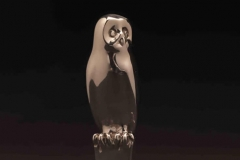 Owl, Sterling Silver