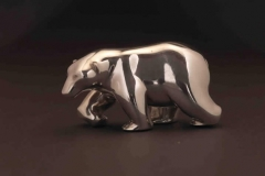 Polar Bear, Sterling Silver