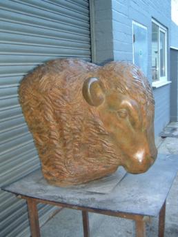 Bull's Head – Bronze