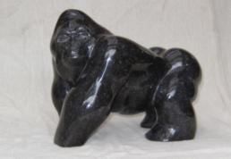 Gorilla Standing – Belgian Fossil Marble