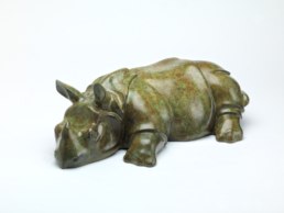 Asian Rhino – Bronze