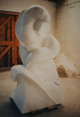 Carp – Carrara Statuary Marble