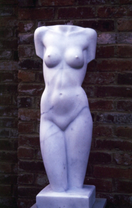 Female Torso – Carrara Marble