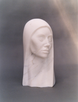 Head – Carrara Marble