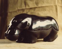 Hippo – Belgian Black Marble