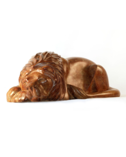Sleeping Lion – Bronze