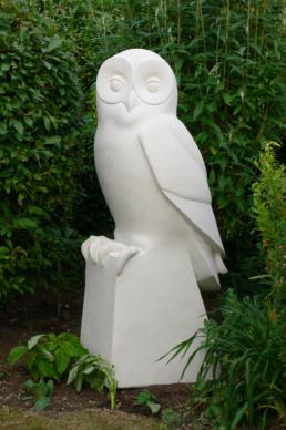Owl – Portland Stone
