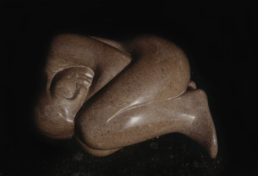 Reclining Figure – Purbeck Stone