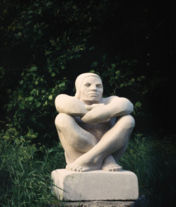 Seated Man – Nabrezzine Marble